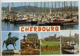 50 - CHERBOURG - 5 Vues - Bateaux De Peches - Statut Napoléon1er ... - Cherbourg
