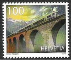 Schweiz Ausgabe Vom  7.3.2013: 100 Jahre Lötschberg-Bahn - Ponti