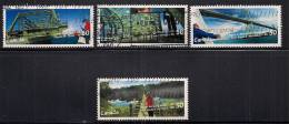 2100-2103    Bridges   Used Set - Used Stamps