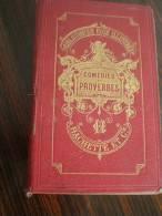 LIVRE ANCIEN ANNEES 1865 BIBLIOTHÈQUE ROSE ILLUSTRÉE COMÉDIES ET PROVERBES HACHETTE ET C PAR LA COMTESSE DE SEGUR - 1801-1900