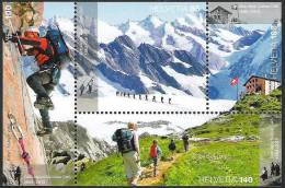 Schweiz Ausgabe Vom  7.3.2013: 100 Jahre Alpen-Club SAC (Postpreis CHF 5.15) - Arrampicata