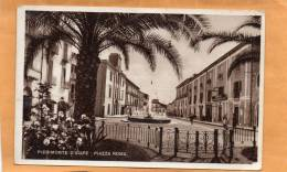 PIEDIMONTE D'ALIFE Piazza Roma Old Postcard - Caserta