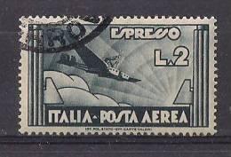 REGNO D'ITALIA   1934   POSTA AEREA   ESPRESSO AEREO    SASS. 73   USATO   VF - Usati