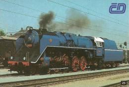 RAIL * RAILWAY * RAILROAD * TRAIN * LOCOMOTIVE * CZECH RAILWAYS * CALENDAR * CD 25 26 27 28 CS * Czech Republic - Calendarios