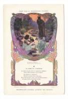 """Grand Chromo, édité Par La PHOSPHATINE FALIÈRES / Fable De La Fontaine """"LE LOUP ET L' AGNEAU"""", Par L. CHALON - Chromos"""