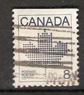 Canada  1982-83  Canadian Maple Leaf Emblem   (o) - Timbres Seuls