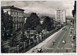 BERGAMO:  VIA  G. CAMOZZI  -  ANIMAZIONE  -  FOTO  -  FG - Bergamo