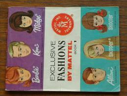 EXCLUSIVE FASHIONS By MATTEL - LIVRET PUBLICITAIRE MATTEL 1964 - BOOK 1 ( RARE A Trouver ) / Zie Foto's Voor Détail ! - Barbie