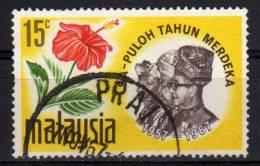 MALAYSIA - 1967 YT 44 USED - Malesia (1964-...)