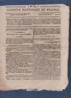 GAZETTE NATIONALE DE FRANCE 16 04 1797 - BONAPARTE ARMEE D'ITALIE - TRANSACTIONS - LOTERIES - - Journaux Anciens - Avant 1800