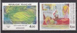 M3689 - FRANCE Yv N°2300/01 ** ART - Unused Stamps