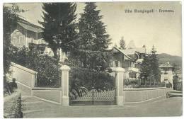 CARTOLINA - PREMENO  - VILLA MANGIAGALLI   - VIAGGIATA NEL 1913 - Verbania