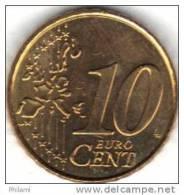 GRECE, 10 Cts 2002 UNC, Avec La Lettre F, Fabriqué En Finlande. ( AP12) - Grèce