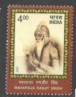INDIA , 2001, Bicentenary Of Ranjit Singh´s Coronation As Maharaja Of Punjab,  MNH, (**) - Nuevos
