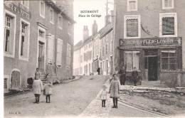 Bourmont,café De La Patrie,place Du Collège. - Frankreich