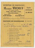 Entreprise De Ramonages : Richard Violet 21,avenue De Paris MAGON 28400 Nogent Le Rotrou - Charles Chevalier - Petits Métiers