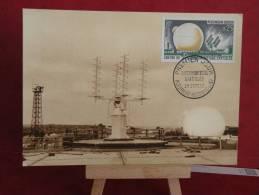 FDC - Pleumeur Bodou ( C Du N ) - 29.9.1962  Carte Maxi 1er Jour - 1960-1969
