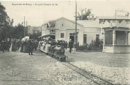 33Mq   Petit Train à Vapeur Locomotive - Trains