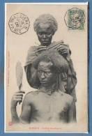 AFRIQUE - DJIBOUTI --  Coiffure D'un Somalis - Gibuti