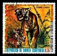 Äquatorial Guinea / Guinea Ecquatorial: 'Tiger, Panthera Tigris, 1976', Mi. 939; Yv. 90 Oo - Roofkatten