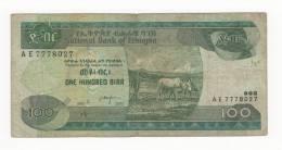 ETIOPIA, 100 BIRR. - Ethiopie