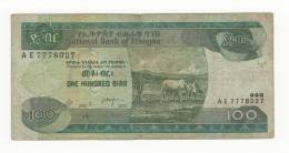 ETIOPIA, 100 BIRR. - Etiopia