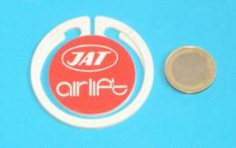 JAT  - Jugoslav National Airlines Company ( Vintage Badge ) Plane Avion Aviation Pin - Commercial Aviation