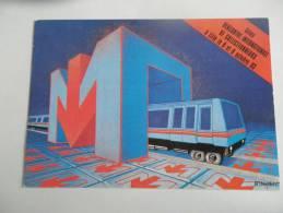 Lille 1983 - 5ème Rencontre Des Collectionneurs - VAL : Métro De Lille - Transport - Borse E Saloni Del Collezionismo