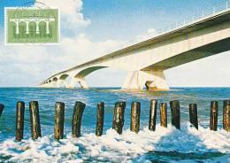 D11730 CARTE MAXIMUM CARD FD 1984 NETHERLANDS - ZEELAND BRIDGE ZIERIKZEE CP ORIGINAL - 1984