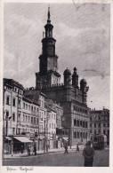 Ak Posen, Rathaus, 1942 - Polonia