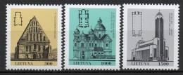 Lituanie - Lietuva - 1993 - Yvert N° 445 à 447 ** - Litauen