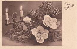 Feldpost WW 2: Christmas Postcard To Saargebiet: 10. Kompanie Infanterie-Regiment 212 FP 25828 Dtd Miehlen (Taunus) 20.1 - Militaria