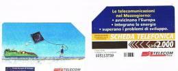 TELECOM ITALIA - C.& C. 2693  - 1997 CONVEGNO FESR FONDO EUROPEO SVILUPPO REGIONALE   - USATA - Italia