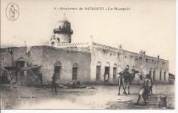 6564 - Souvenir De Djibouti La Mosquée - Djibouti