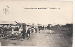 6567 - Souvenir De Djibouti Le Débarcadère - Djibouti