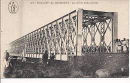 6568 - Souvenir De Djibouti Le Pont D´Aouache - Djibouti