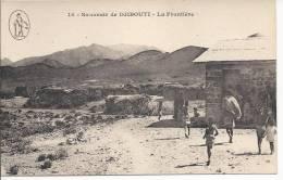 6570 - Souvenir De Djibouti La Frontière - Djibouti