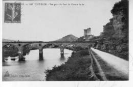 CPA   LUZECH Pont Chemin De Fer - France
