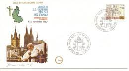 Enveloppe - VIAGGI DI Giovanni Paolo II Germania - Cartas Máxima