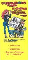 WALTHERY - NATACHA  - Programme 3 Volets - 4è Festival PHILABEDELIQUE - HORNU  : 27/28-03-20042004 - Affiches & Offsets