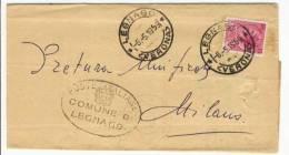 1959 - Comune Di Legnago - L.13 Tariffa Ridotta - 6. 1946-.. Repubblica
