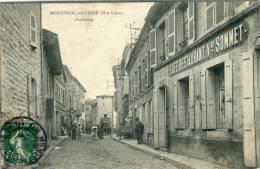 CPA 43 MONISTROL SUR LOIRE FAUBOURG Commerce Animée - Monistrol Sur Loire