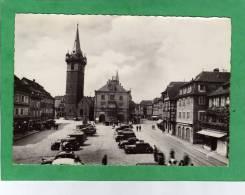 Obernai Place Du Marché Carte Animée Voitures - Obernai