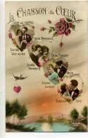 LANGAGE - LA CHANSON DU COEUR - Couple Dans Un Coeur - Fantaisies