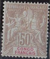 Congo N° 45* Neuf Avec Charniere