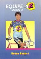 Sport  - CYCLISME -Equipe Z (vêtements) -Bruno BONNET Saison 91 (1991) *PRIX FIXE - Ciclismo