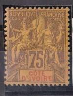 Côte D'Ivoire N° 12* Neuf Avec Charniere - Côte-d'Ivoire (1892-1944)