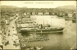 CPA  13 - MARSEILLE   Vue Générale Du Vieux Port    (TBE) - Vieux Port, Saint Victor, Le Panier