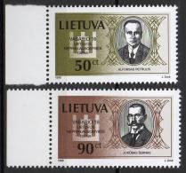 Lituanie - Lietuva - 1998 - Yvert N° 576 & 578 ** - Lithuania