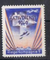 FP 311 - FELDPOST Flieger / Aviation Fliegerkompagnie 9 Neuf - Vignettes